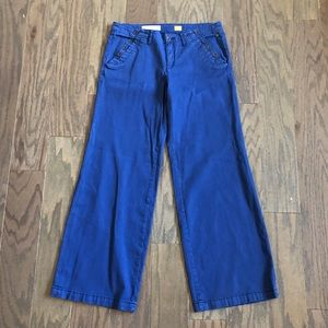 Anthropologie Pilcro Wide Leg Chino Pants